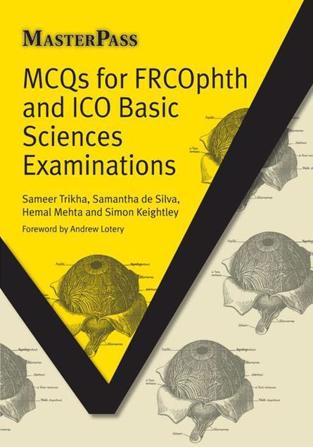 Picture of MCQs for FRCOphth and ICO Basic Sciences Examinations