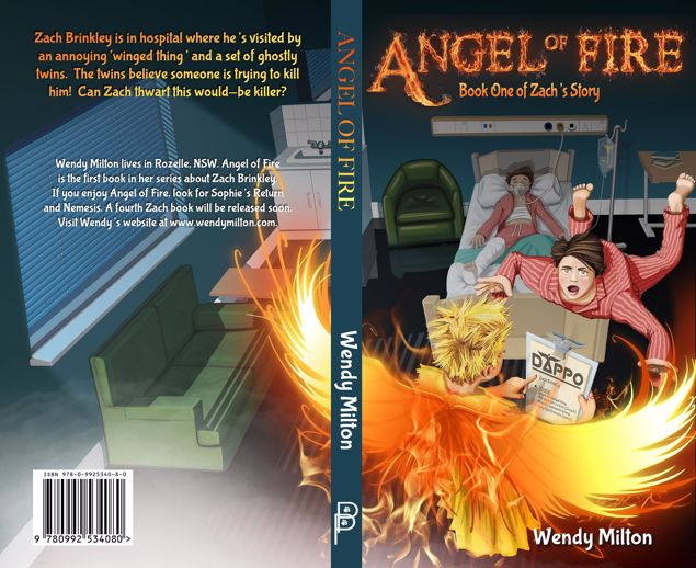 Picture of Angel of Fire: Book One of Zach's Story