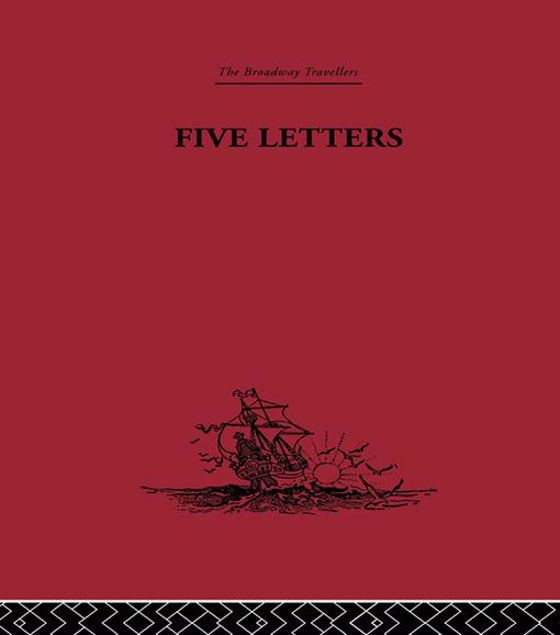 Picture of Five Letters 1519-1526