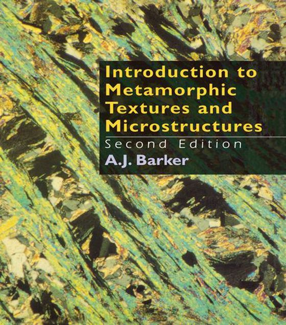 Picture of Introduction to Metamorphic Textures and Microstructures
