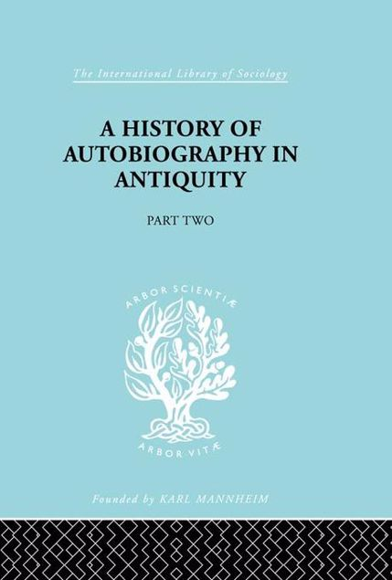 Picture of A History of Autobiography in Antiquity