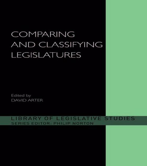 Picture of Comparing & Classifying Legislature