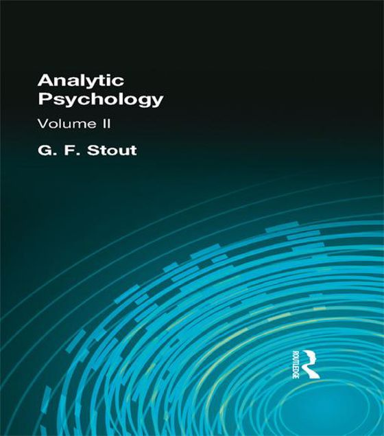 Picture of Analytic Psychology: Volume II