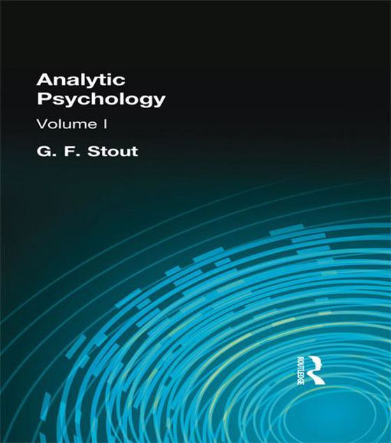 Picture of Analytic Psychology: Volume I