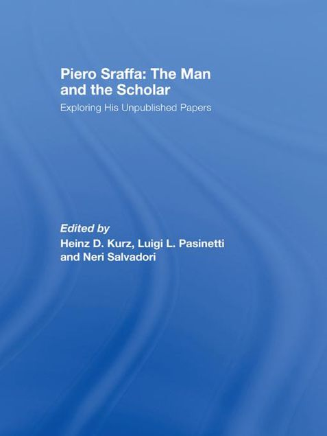 Picture of Piero Sraffa Man & Scholar - Kurz: Exploring His Unpublished Papers