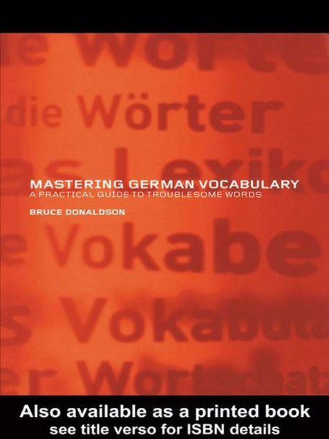 Picture of Mastering German Vocabulary: A Practical Guide to Troublesome Words
