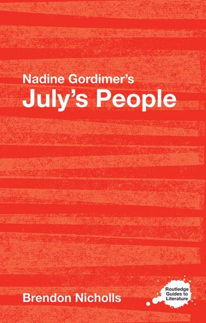 Picture of Nadine Gordimer's July's People: A Routledge Study Guide