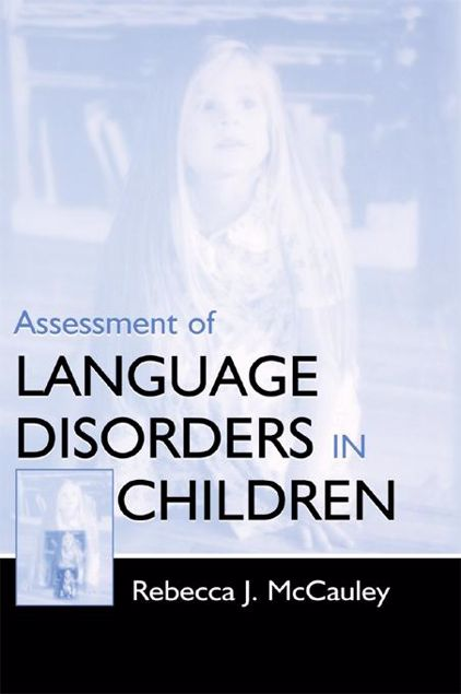 Picture of Assessment of Language Disorders in Children