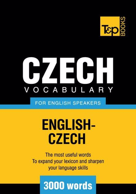 Picture of T&P English-Czech vocabulary 3000 words