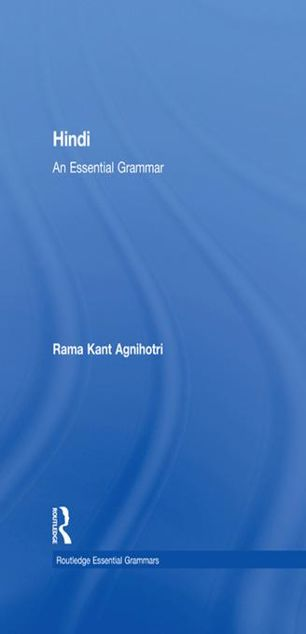 Picture of Hindi: An Essential Grammar