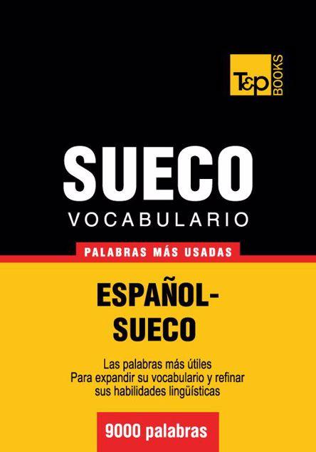 Picture of Vocabulario Espanol-Sueco - 9000 Palabras Mas Usadas