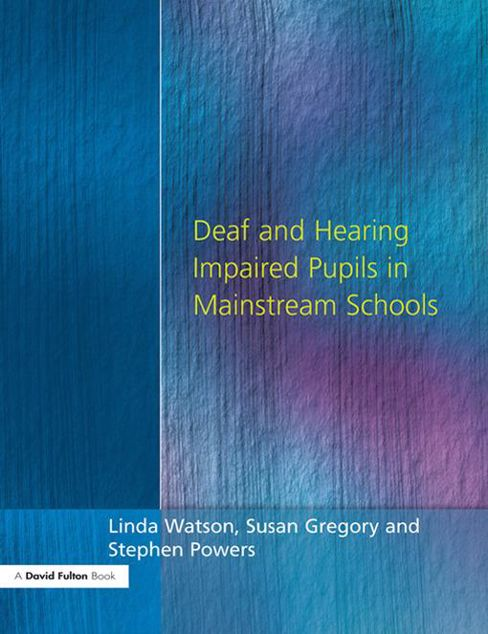 Picture of Deaf and Hearing Impaired Pupils in Mainstream Schools