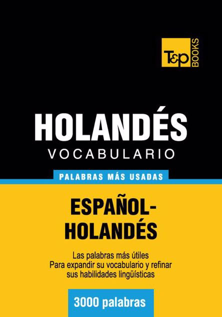 Picture of Vocabulario Espanol-Holandes - 3000 Palabras Mas Usadas