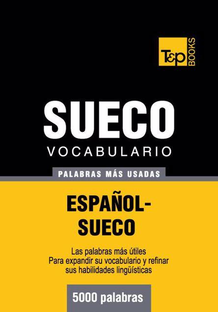 Picture of Vocabulario Espanol-Sueco - 5000 Palabras Mas Usadas