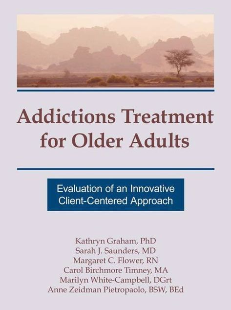 Picture of Addictions Treatment for Older Adults: Evaluation of an Innovative Client-Centered Approach