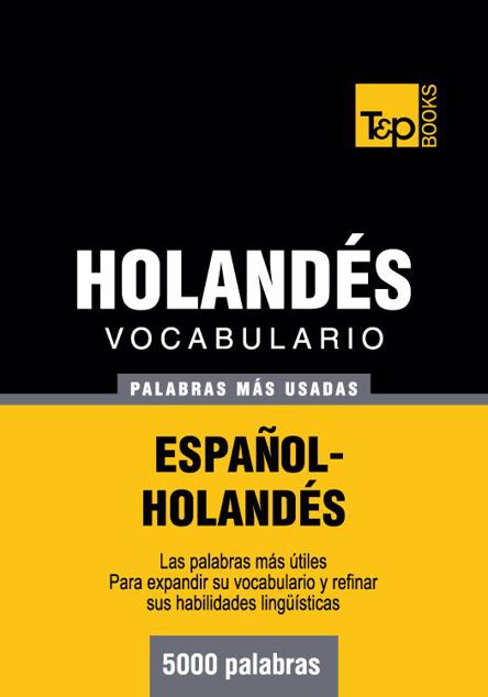 Picture of Vocabulario Espanol-Holandes - 5000 Palabras Mas Usadas