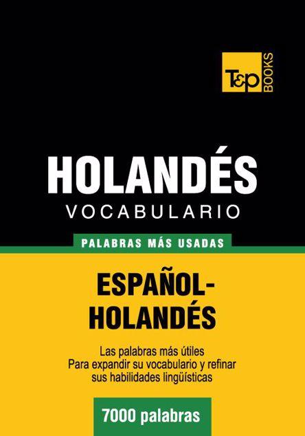 Picture of Vocabulario Espanol-Holandes - 7000 Palabras Mas Usadas