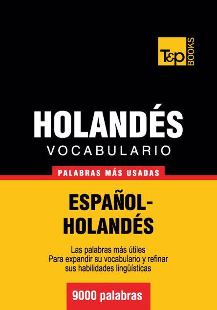Picture of Vocabulario Espanol-Holandes - 9000 Palabras Mas Usadas