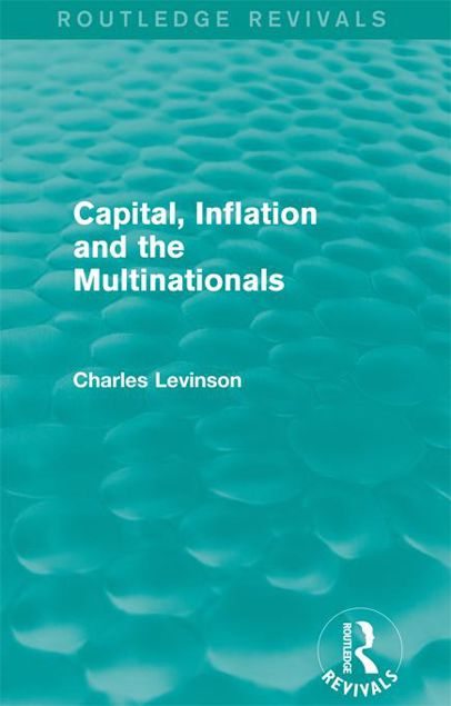 Picture of Capital Inflation and the Multinationals