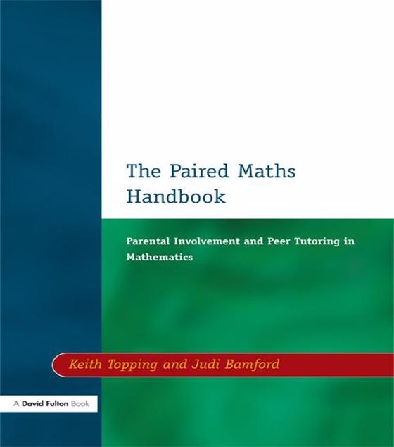Picture of Paired Maths Handbook: Parental Involvement and Peer Tutoring in Mathematics