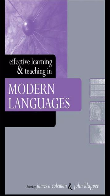 Picture of Effective Learning and Teaching in Modern Languages