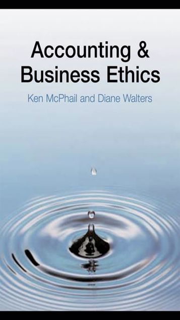 Picture of Accounting and Business Ethics: An Introduction