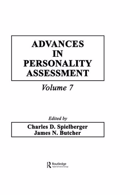 Picture of Advances in Personality Assessment: Volume 7