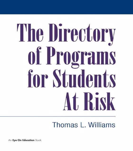 Picture of Directory of Programs for Students at Risk