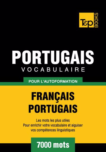 Picture of Vocabulaire Francais-Portugais Pour L'Autoformation - 7000 Mots