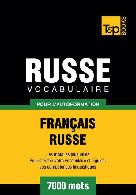 Picture of Vocabulaire Francais-Russe Pour L'Autoformation - 7000 Mots