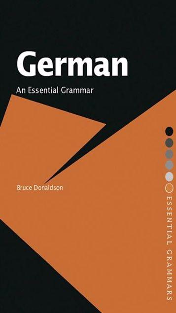Picture of German: An Essential Grammar
