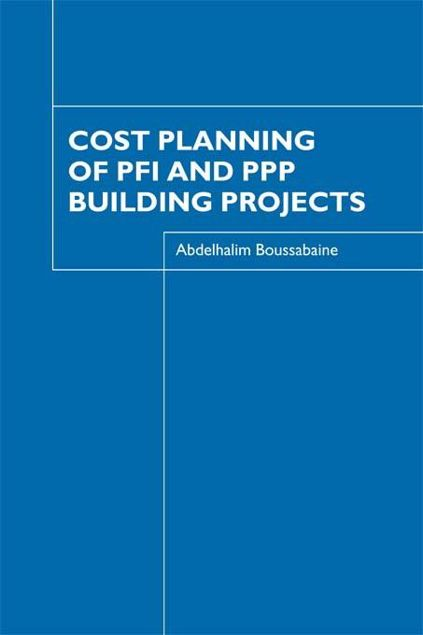 Picture of Cost Planning of Pfi and PPP Building Projects