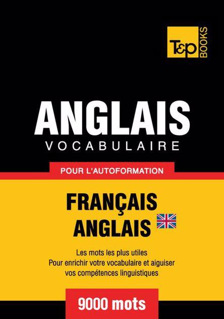 Picture of Vocabulaire Francais-Anglais Br Pour L'Autoformation - 9000 Mots