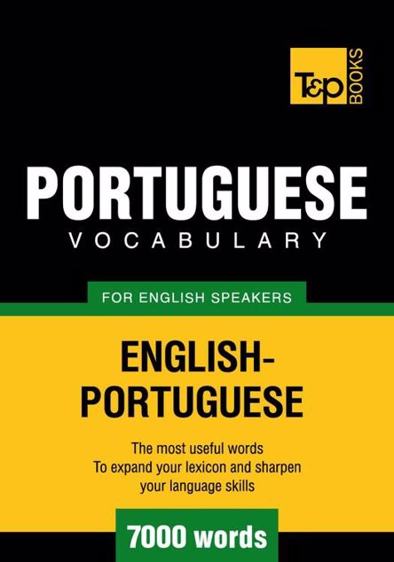 Picture of T&p English-Portuguese Vocabulary 7000 Words