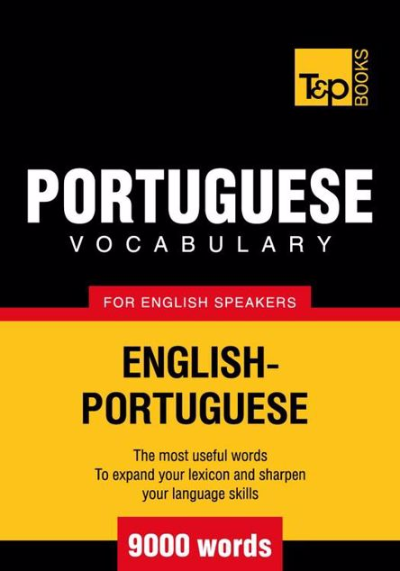 Picture of T&p English-Portuguese Vocabulary 9000 Words