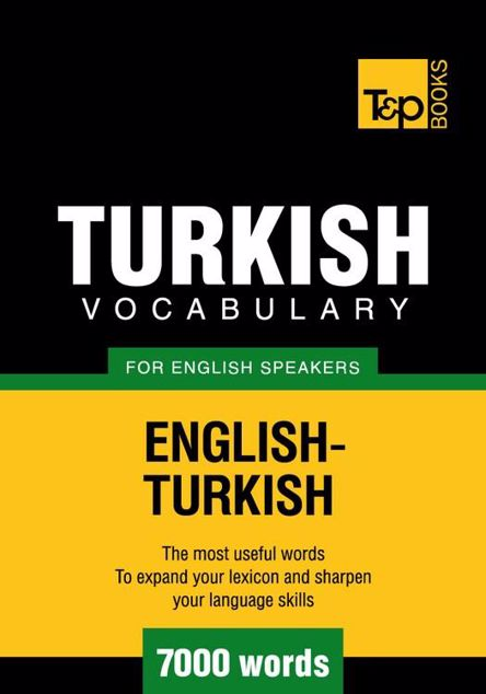 Picture of T&p English-Turkish Vocabulary 7000 Words