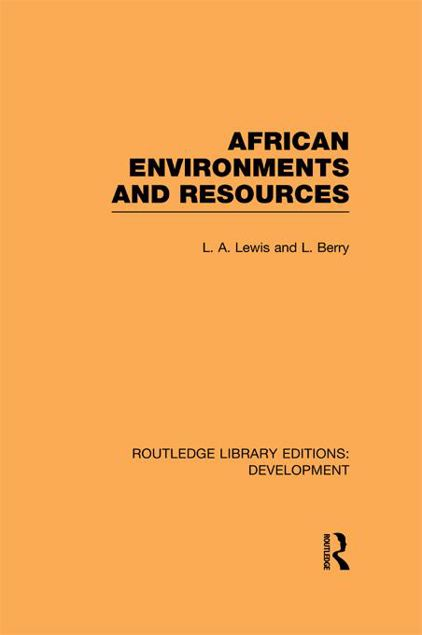 Picture of African Environments and Resources