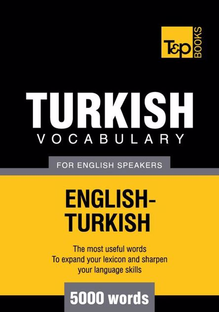 Picture of T&p English-Turkish Vocabulary 5000 Words