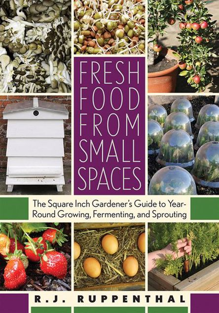 Picture of Fresh Food from Small Spaces: The Square-Inch Gardener's Guide to Year-Round Growing, Fermenting, and Sprouting
