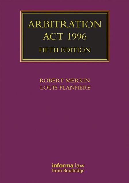 Picture of Arbitration Act 1996