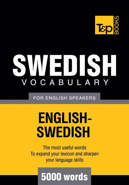 Picture of T&p English-Swedish Vocabulary 5000 Words