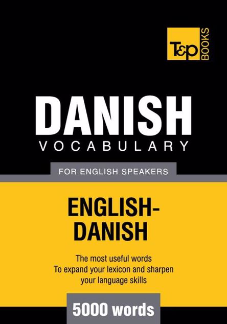 Picture of T&p English-Danish Vocabulary 5000 Words