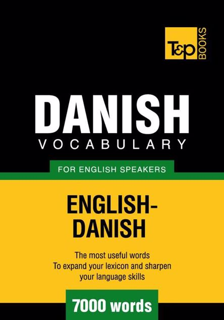 Picture of T&p English-Danish Vocabulary 7000 Words