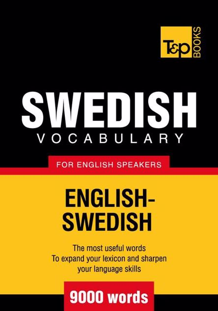 Picture of T&p English-Swedish Vocabulary 9000 Words