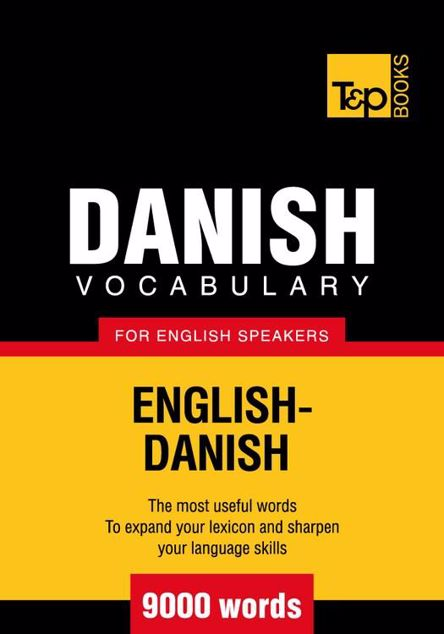 Picture of T&p English-Danish Vocabulary 9000 Words