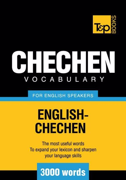 Picture of T&p English-Chechen Vocabulary 3000 Words