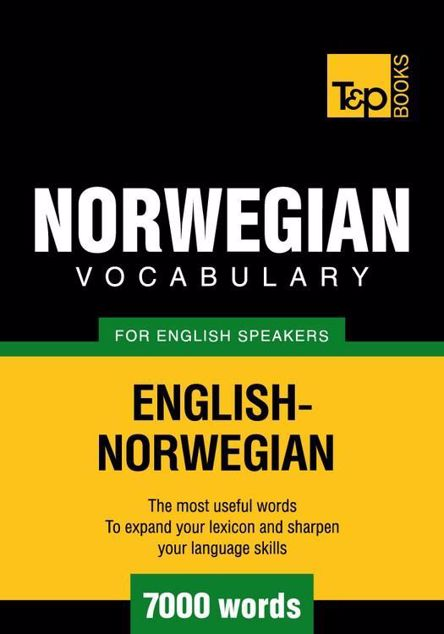 Picture of T&P English-Norwegian vocabulary 7000 words