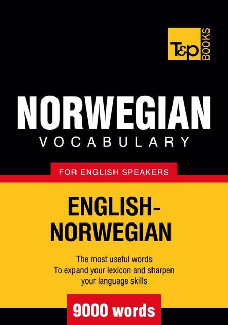 Picture of T&P English-Norwegian vocabulary 9000 words