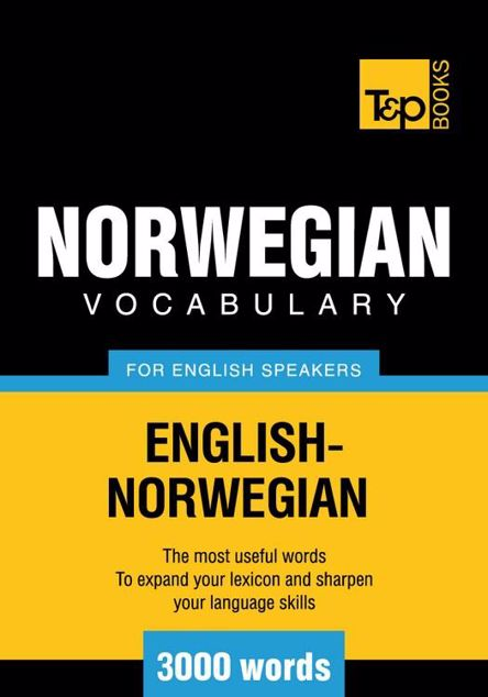 Picture of T&P English-Norwegian vocabulary 3000 words
