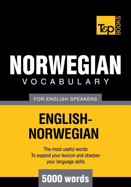 Picture of T&P English-Norwegian vocabulary 5000 words